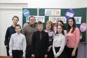 нотариусы Кукицак Ж.И. и Соболев Ю.И. посетили ГКУ РК «Социально-реабилитационный центр для Несовершеннолетних Города Инты»